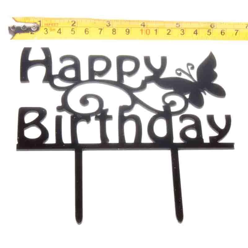 Cake-Toppers-MULTIPLE-DESIGNS-Wedding-Birthday-Decoration-Baking thumbnail 31