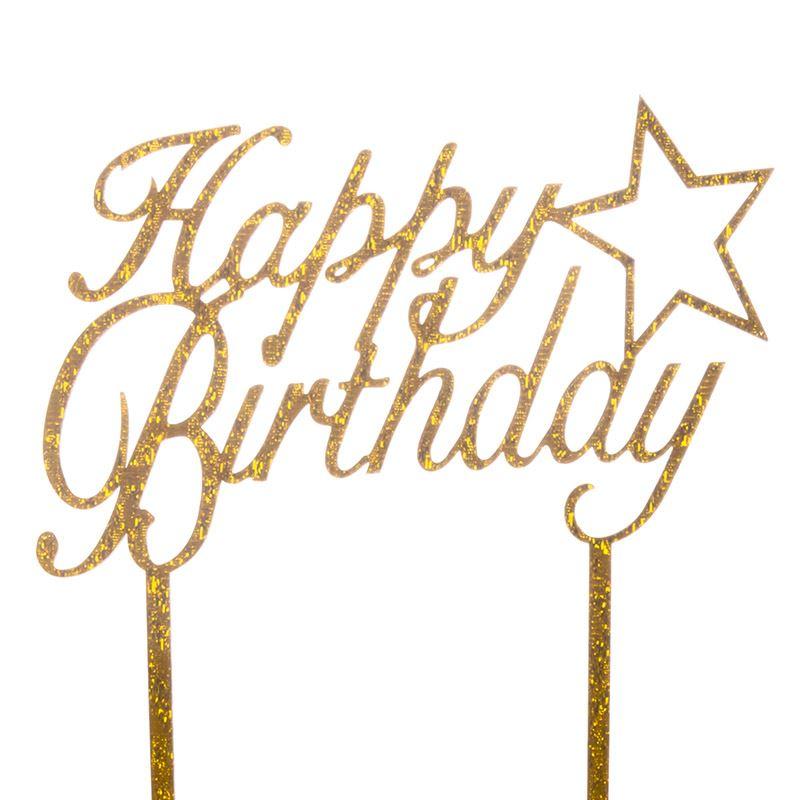 Cake-Toppers-MULTIPLE-DESIGNS-Wedding-Birthday-Decoration-Baking thumbnail 33