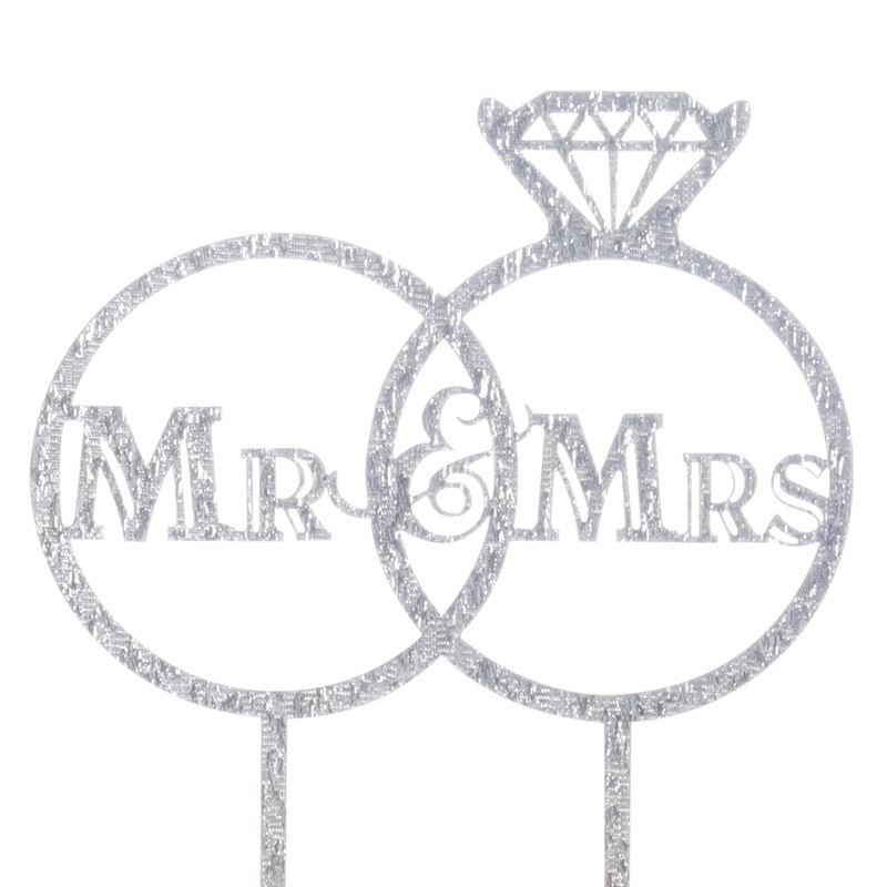 Cake-Toppers-MULTIPLE-DESIGNS-Wedding-Birthday-Decoration-Baking thumbnail 52