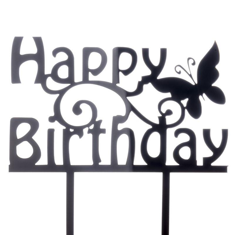 Cake-Toppers-MULTIPLE-DESIGNS-Wedding-Birthday-Decoration-Baking thumbnail 30
