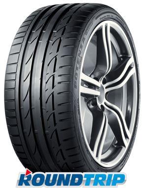 2x Bridgestone Potenza S001 225/45 R17 91W (*), Run Flat