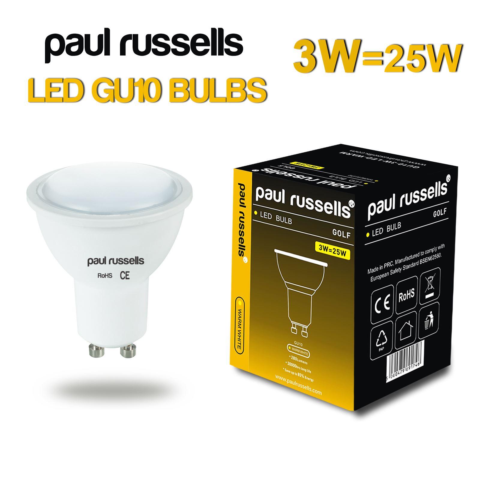 pack of 2 led bulbs gu10 e14 e27 b22 3w 4w 5w 7w 12 watt light bulbs lamps uk ebay. Black Bedroom Furniture Sets. Home Design Ideas