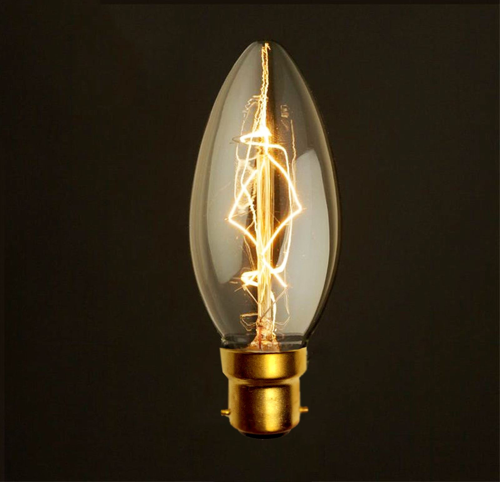 Vintage Squirrel Cage Industrial Filament Antique Style Edison Light Bulbs Ebay