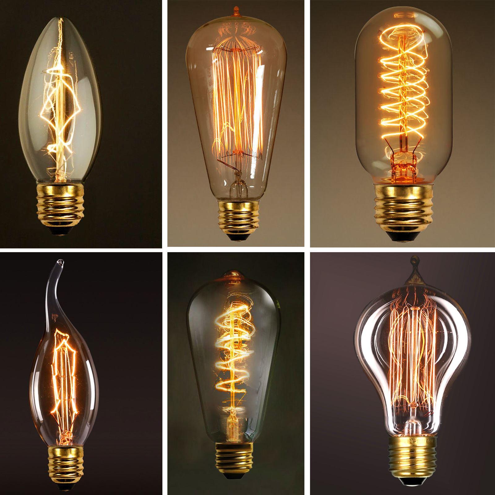 antique lamps vintage bulbs retro edison decorative lights. Black Bedroom Furniture Sets. Home Design Ideas