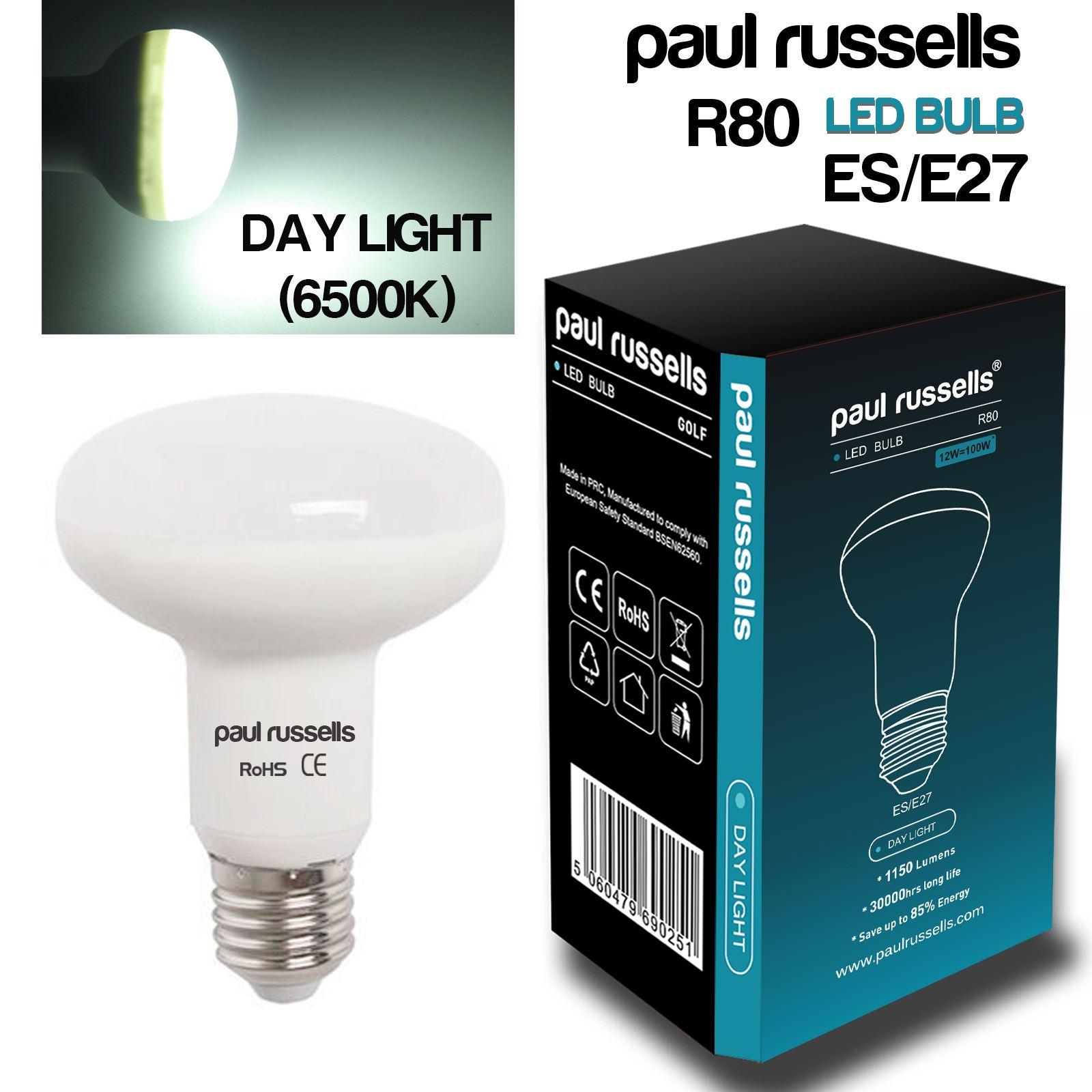 R39 R50 R63 R80 LED Reflector Lamps Bulbs Spot Light Warm ...