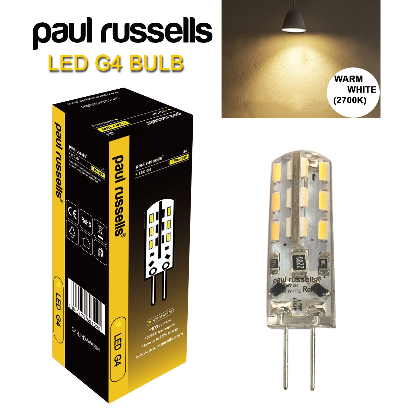 3 5 10x G4 G9 10w 25w Led Capsule Bulb Replace Halogen Light Lamps Wiring A Fixture