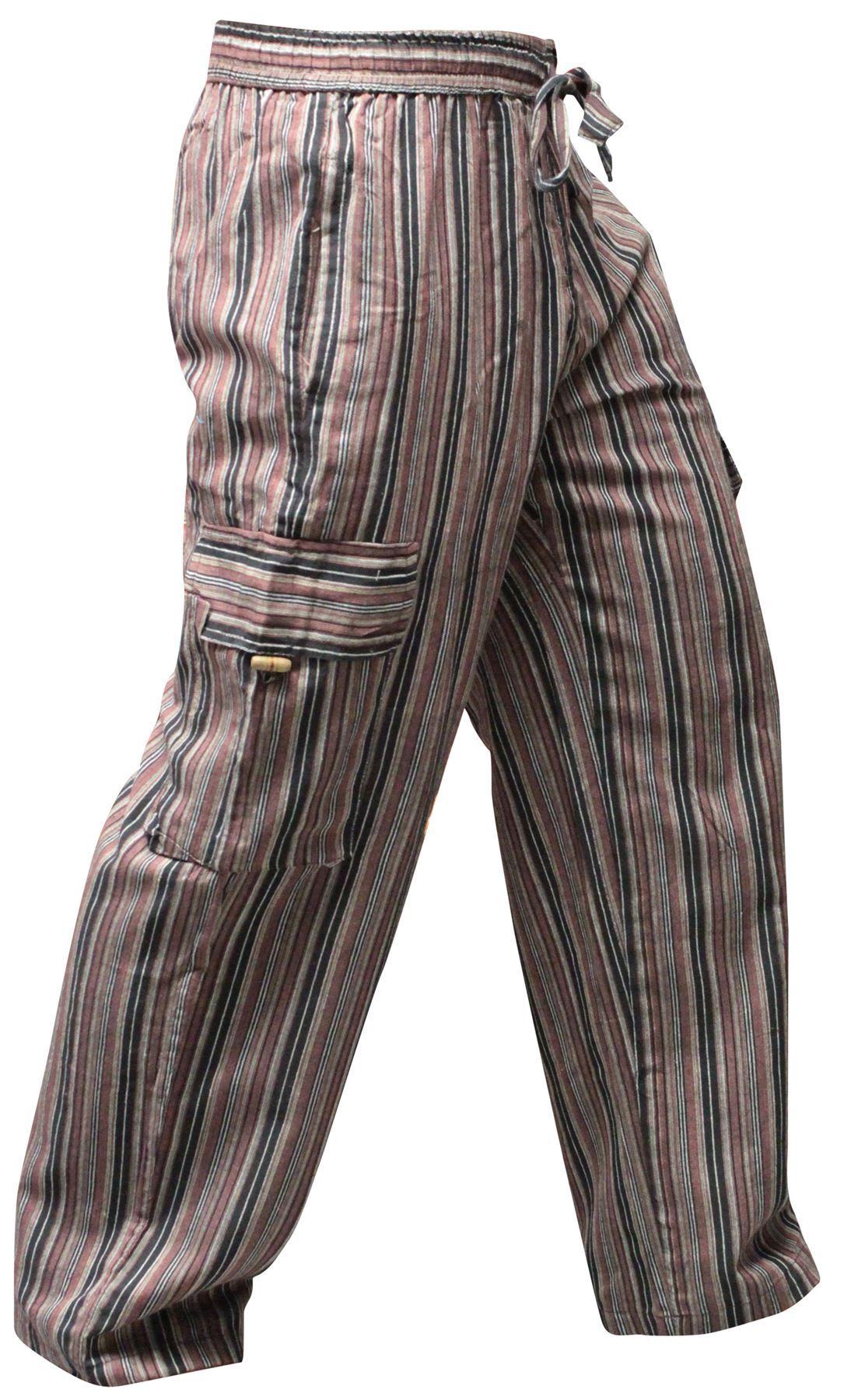 Vintage Stripe Corduroy Pants. Hippie Boho by MISSVINTAGE5000 |Hippie Striped Pants
