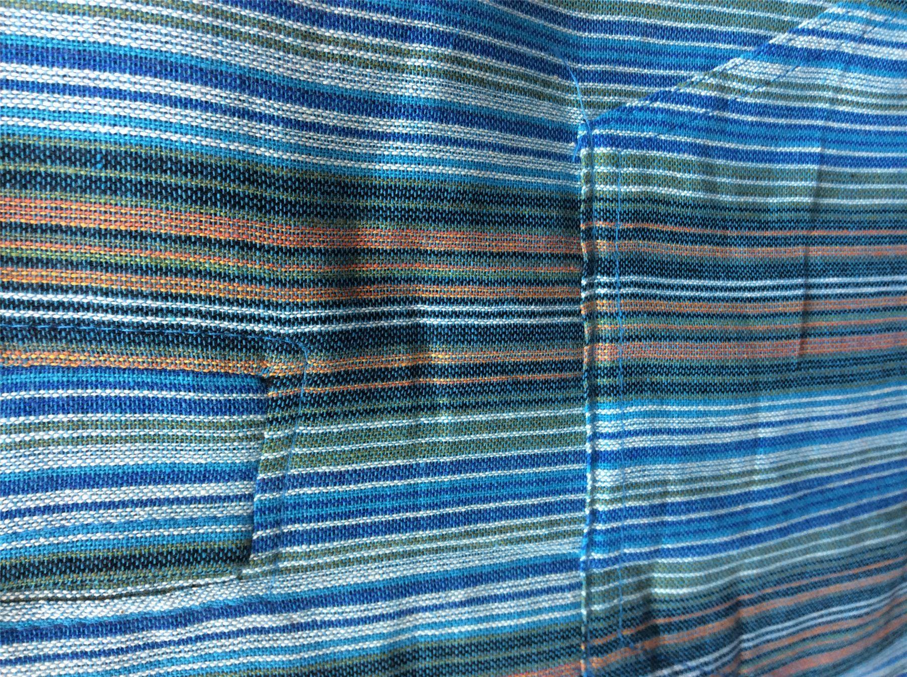 Men-039-s-Cotton-Grandad-Shirt-Full-Sleeved-Hippie-Top-Festival-Stripe-Hippy-Hoodie thumbnail 29