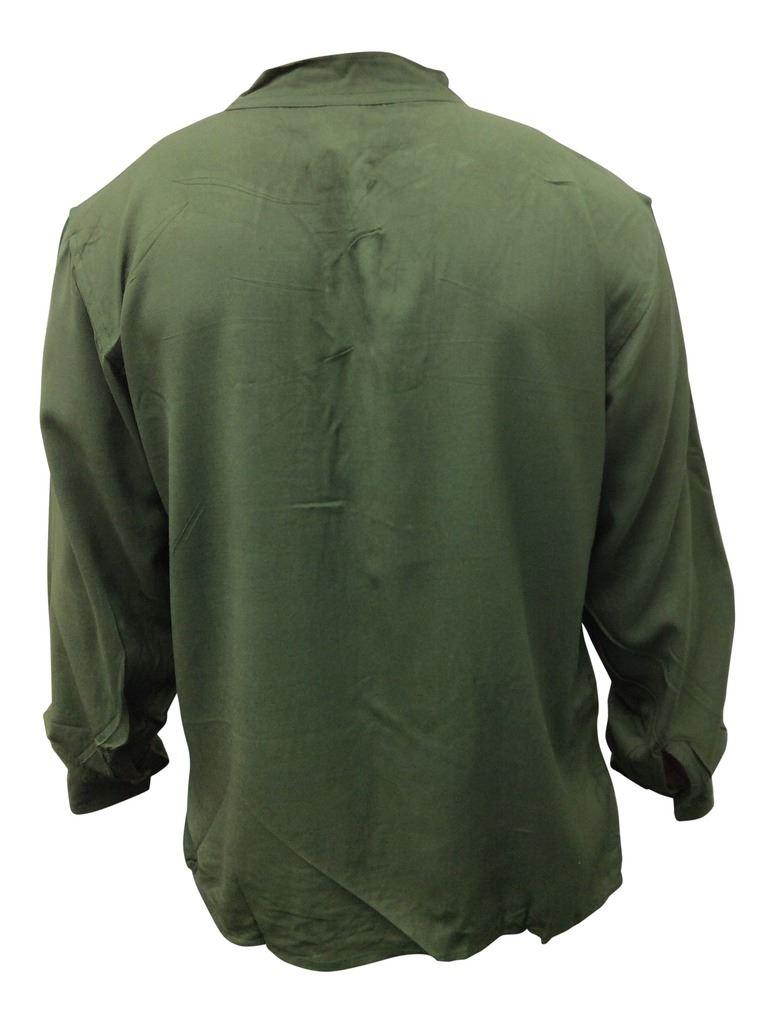 Men-Hippie-Linen-Collarless-Grandad-Shirt-Full-Sleeve-Boho-Casual-Seasonal-Tops thumbnail 14