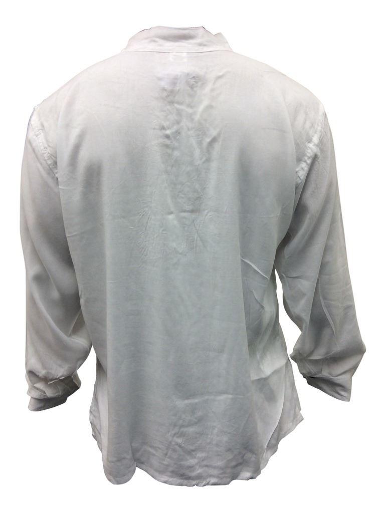 Men-Hippie-Linen-Collarless-Grandad-Shirt-Full-Sleeve-Boho-Casual-Seasonal-Tops thumbnail 27