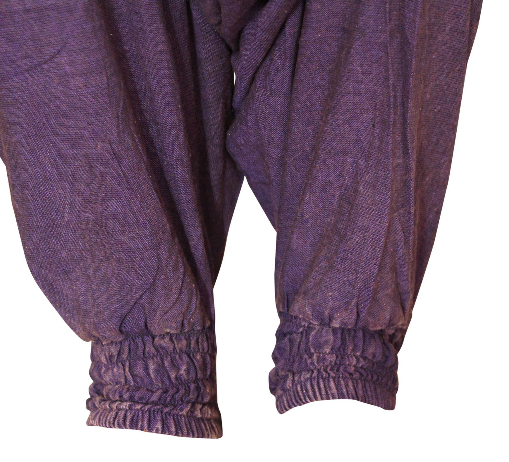 Unisex BOHEMIAN larghi Yoga Donna Pantaloni Harem Festival Estate Pantaloni Hippie Boho