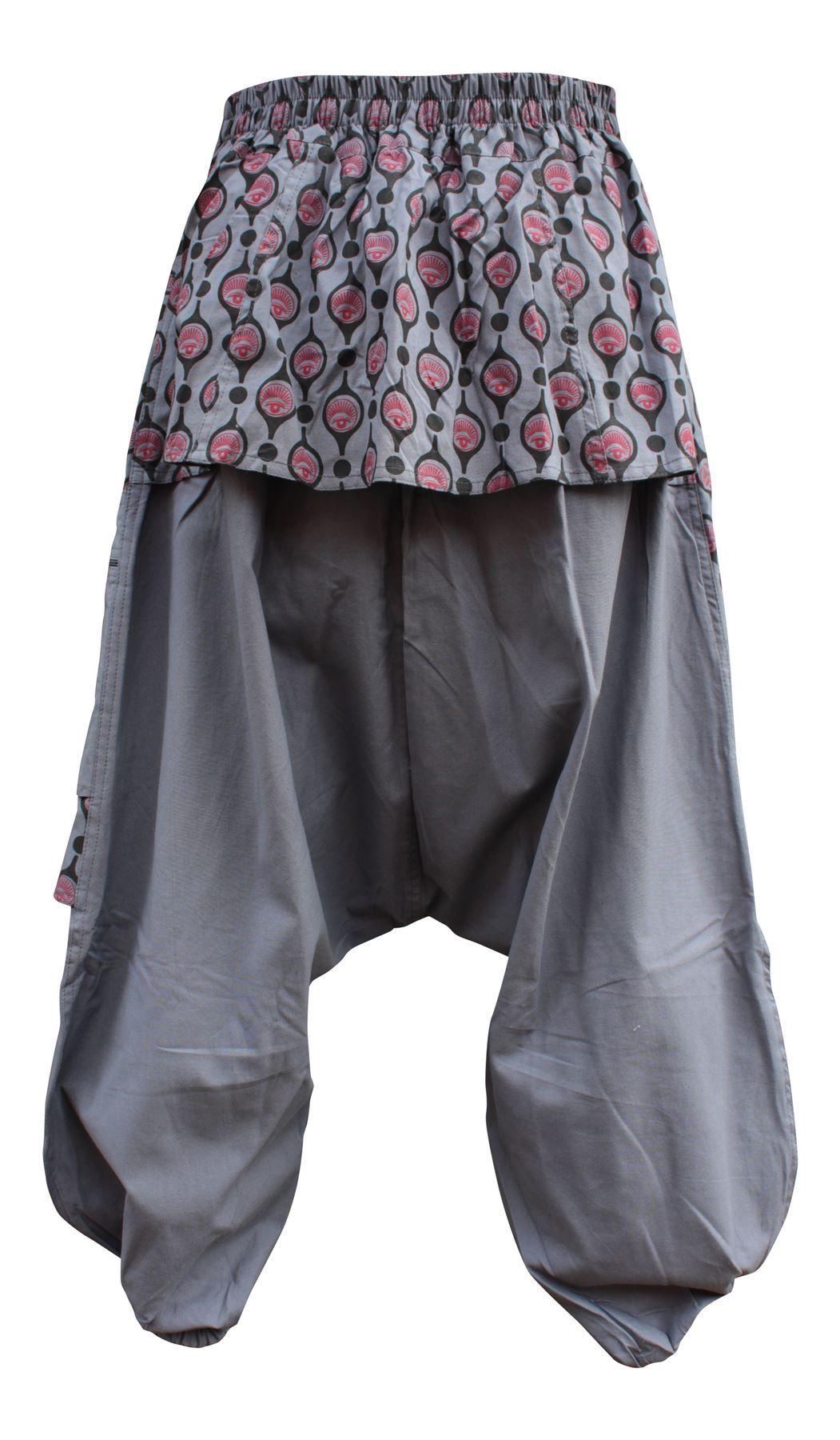 Shopoholic Fashion Children Hippie Harem Loose Boho Trouser Hippy Colorful Kids Retro Comfy Pants