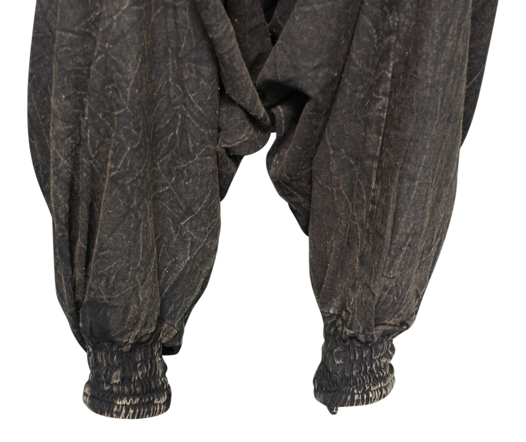 Donna Harem Pants Larghi Stile Bohemien Boho Hippie Aladino Pantaloni Da Yoga Genie Unisex