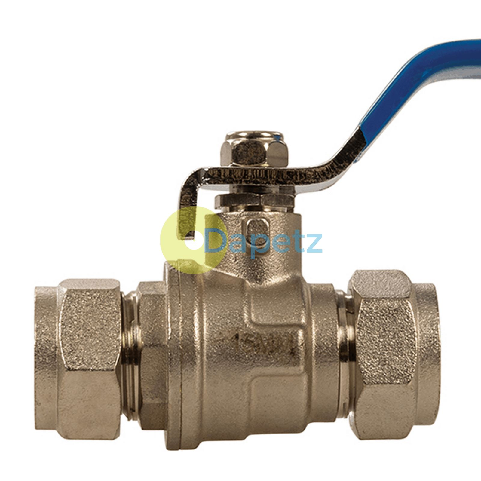 details about lever ball valve 15mm/22mm blue/ red handle heavy duty chrome  plated full bore