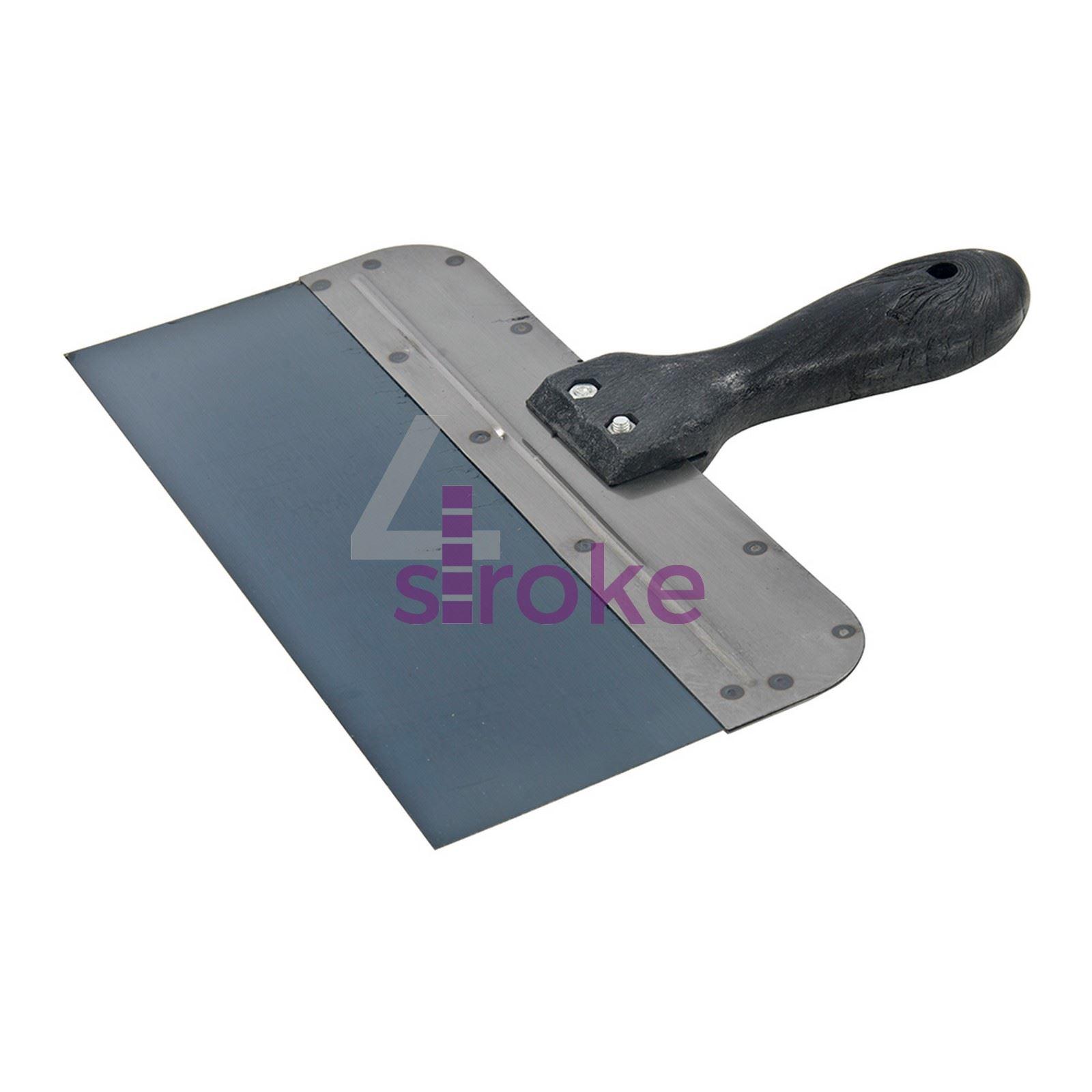 """Outils à Main Bricolage Remplissage couteau 250mm flexible en acier inoxydable 10 /""""scraper remplissage"""
