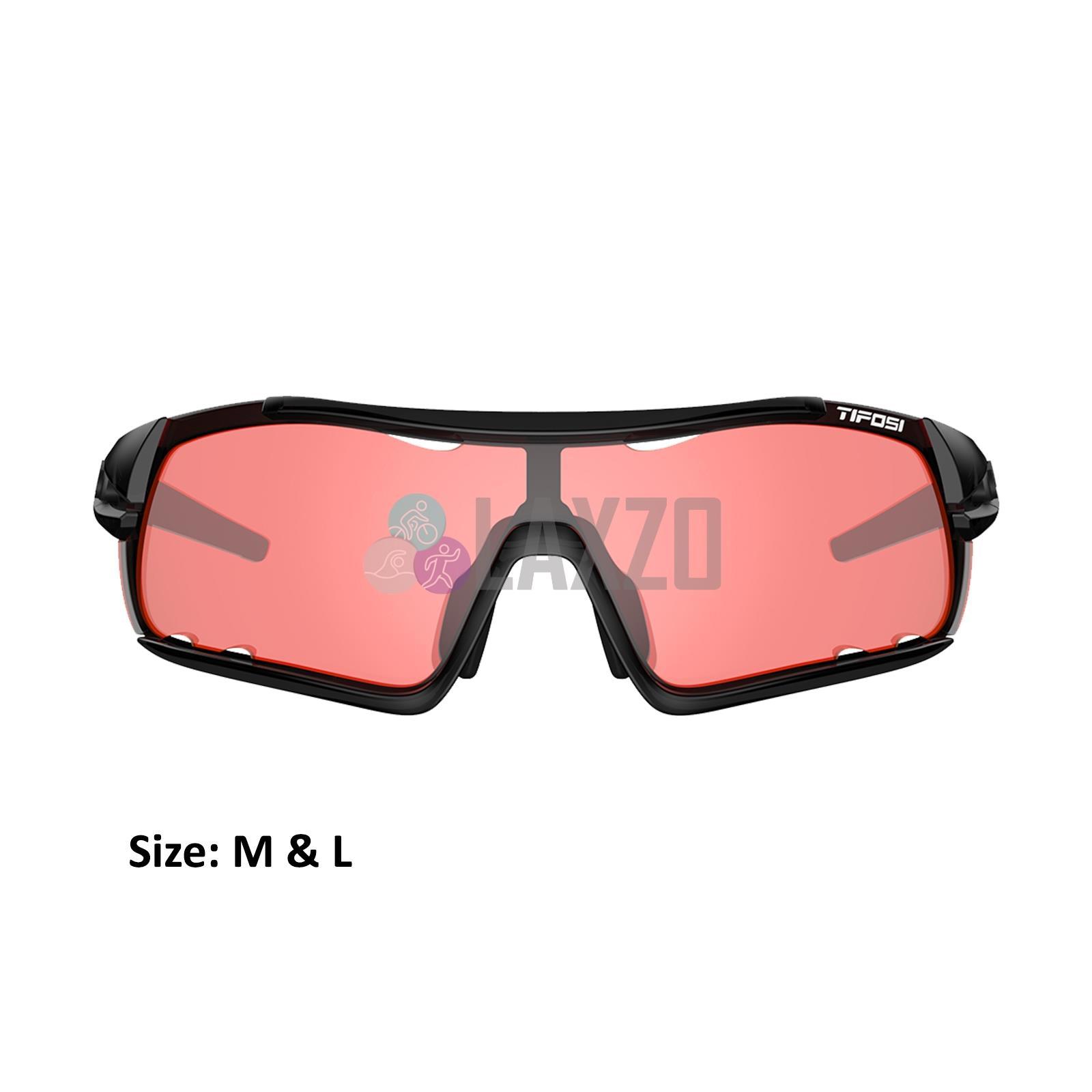 TifosiDAVOSWhite Black CYCLING Sunglasses