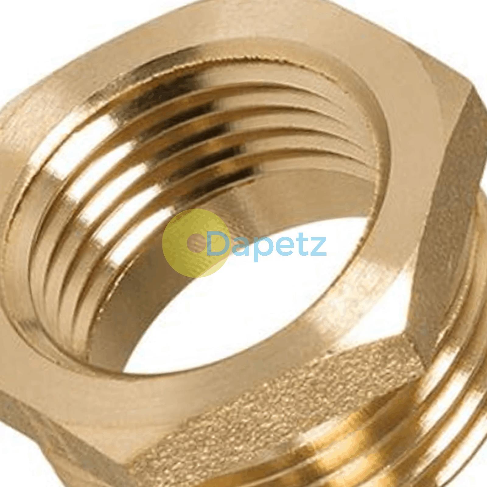 Brass-Reducing-Hexagone-Bush-BSP-Male-a-Femelle-Adaptateur-Connecteur-WRAS-approuves miniature 25