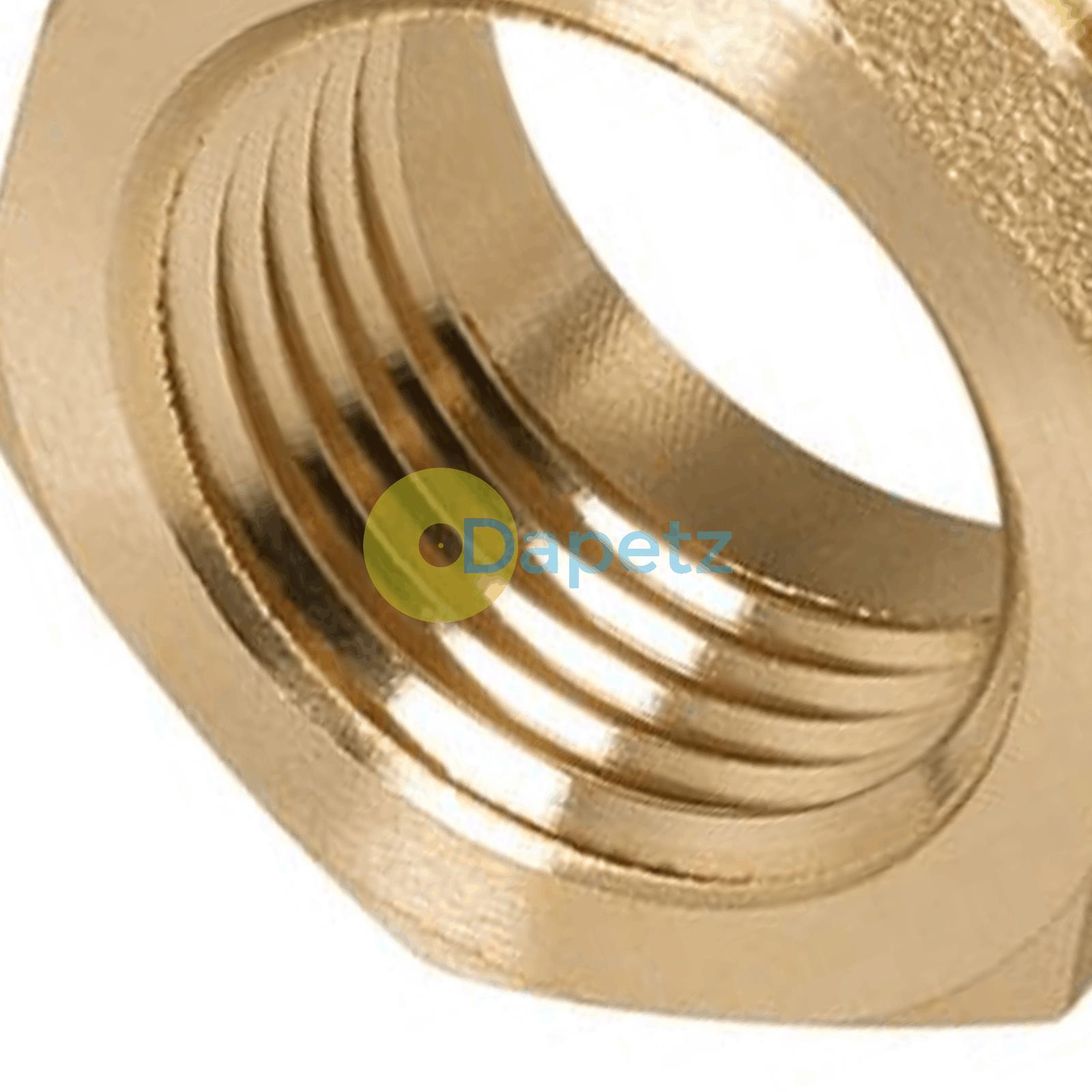 Brass-Reducing-Hexagone-Bush-BSP-Male-a-Femelle-Adaptateur-Connecteur-WRAS-approuves miniature 23