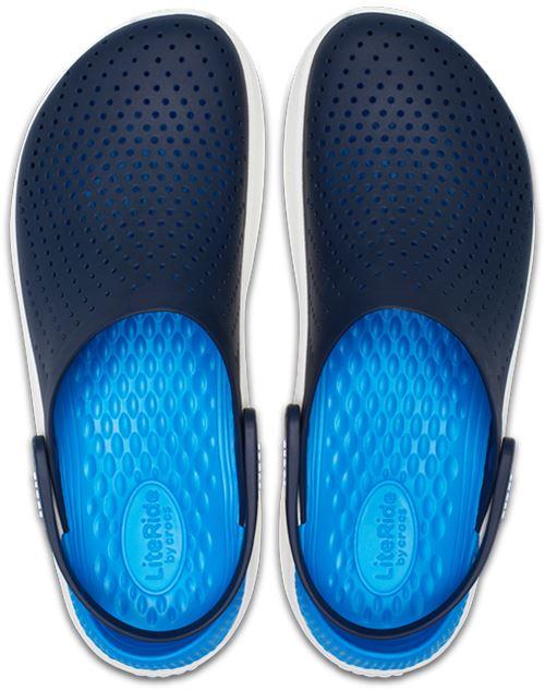Crocs-Lite-Ride-Relaxed-Fit-Clog-Shoes-Sandals-Black-Grey-White-amp-Blue-204592 thumbnail 31