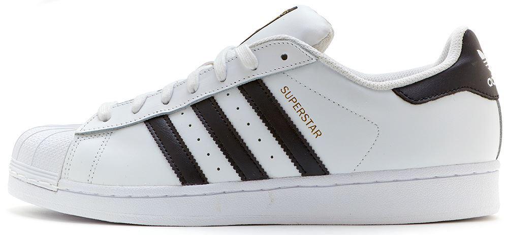 adidas originals superstar trainers in white c77124