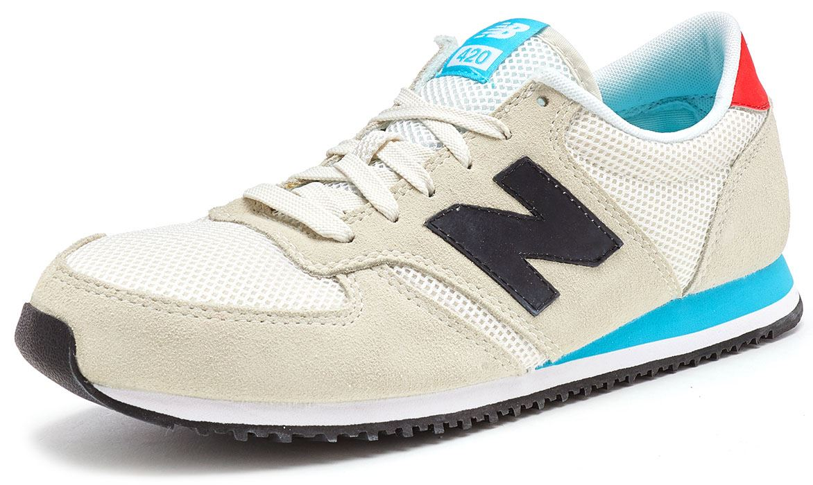 New Balance 420 Classic Retro Trainers in Mesh Größes & Suede in All Größes Mesh 5740b7