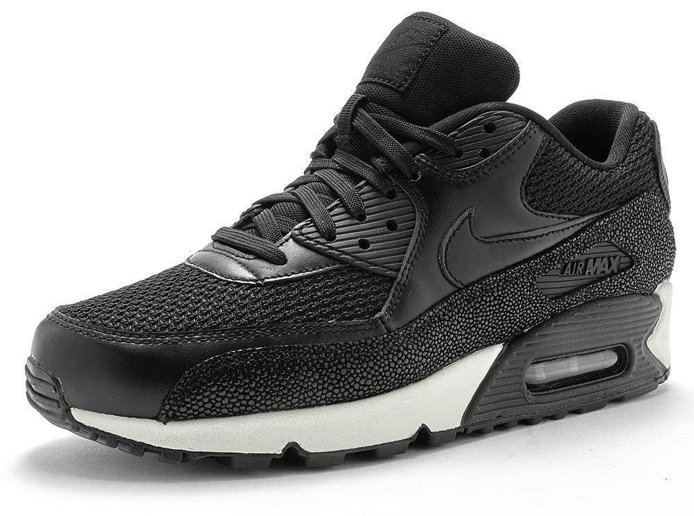 69c095f4b7 Mens Nike Air Max 90 Essential Premium Breathe Leather Suede ...