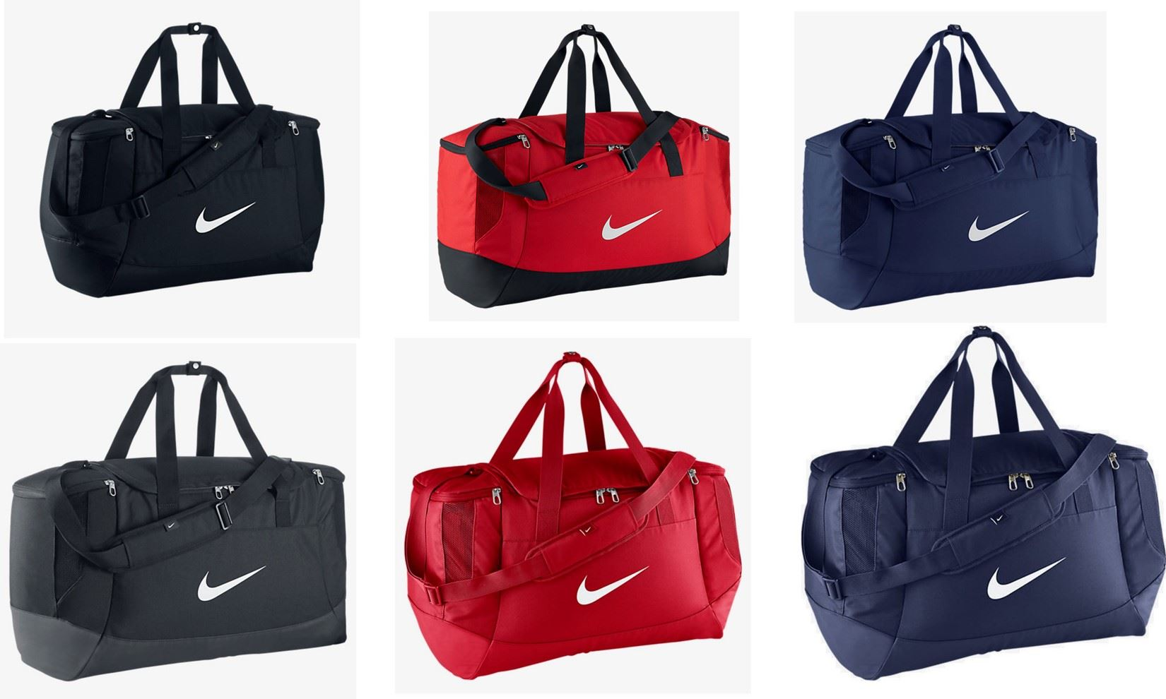 7584a0fe2f14 Details about Nike Club Team Swoosh Duffel Gym Sport Holdall Bag Blue