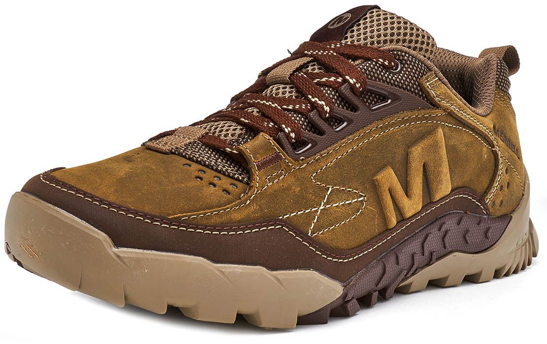 Merrell-Annex-Track-Low-Trainers-in-Cloudy-amp-Clay-Brown-amp-Sodalite-Blue thumbnail 11