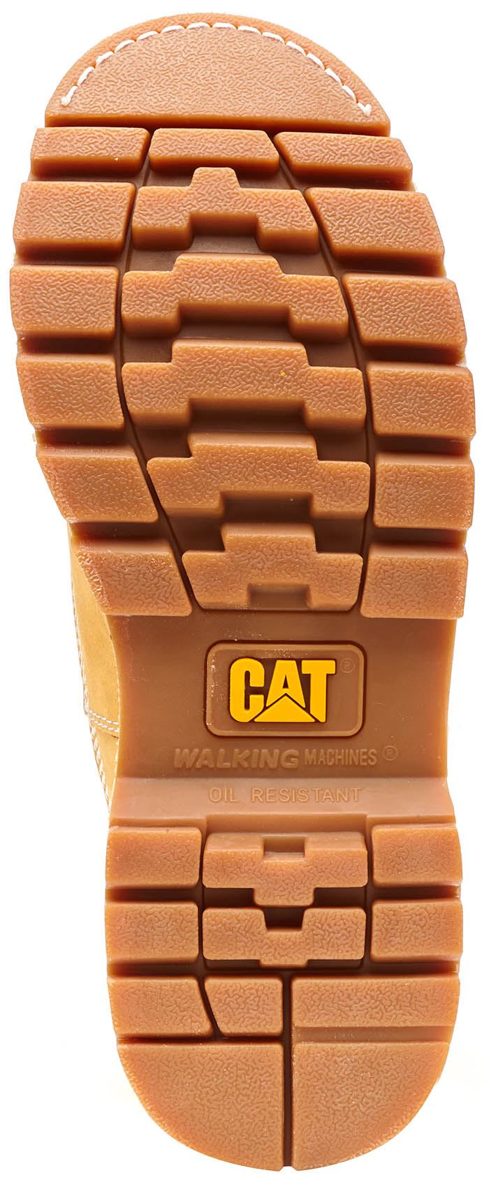 Caterpillar CAT CAT CAT Coloreeeeado Stivali in Royal Marroneee & Honey Grano 37114d
