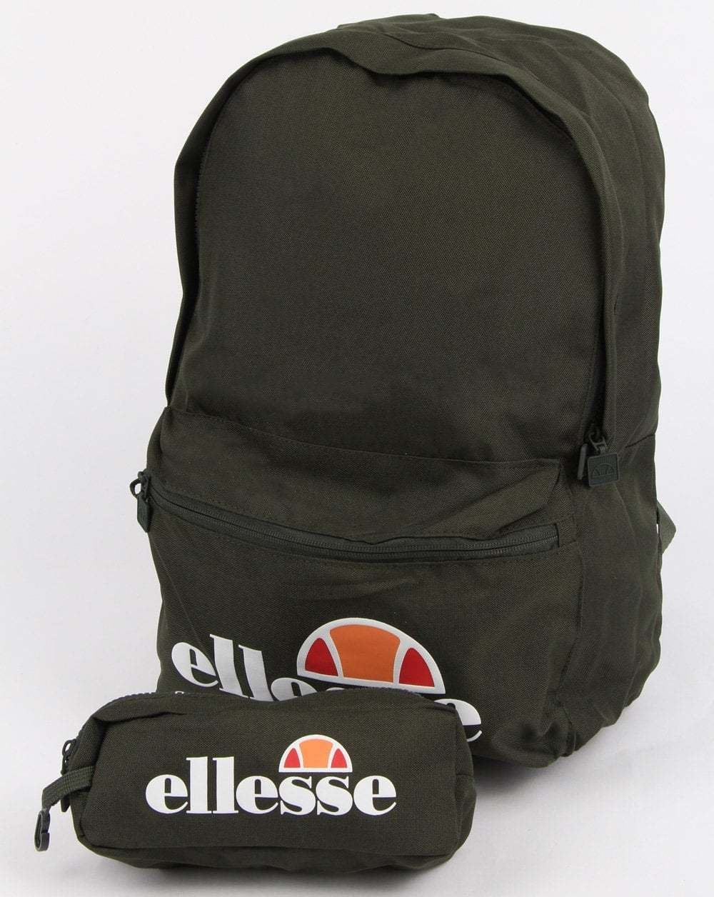Description The Ellesse Rolby backpack comes with a free pencil case,  perfect for carrying your essential items to, or from, a workout down at  the gym or ... 5f8c1289f5