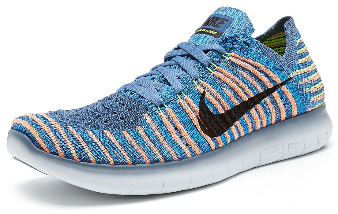 The latest in the Flyknit series, the Nike Free Run Flyknit Running Shoe  combines ...