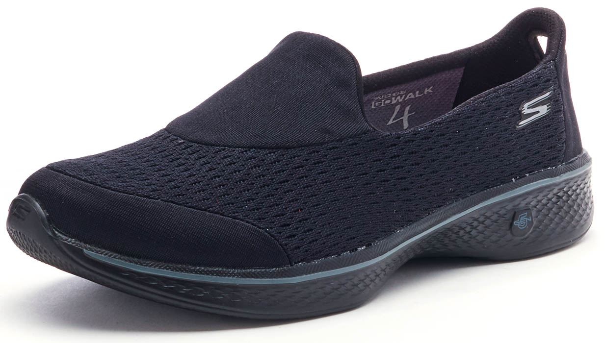 Skechers Pursuit Go Walk 4 Pursuit Skechers Trainers in schwarz Grau & Navy 14148 in ... 3ecd75