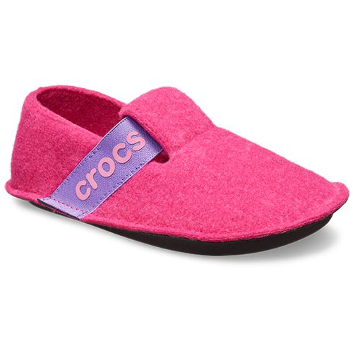 Crocs-Classic-Kids-Relaxed-Fit-Cozy-Slippers-Slip-On-Warm-Winter-Sandals thumbnail 4