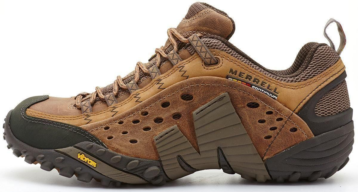 Merrell-Intercept-Hiking-Shoes-in-Moth-Brown-amp-Blue-Wing-amp-Black thumbnail 10