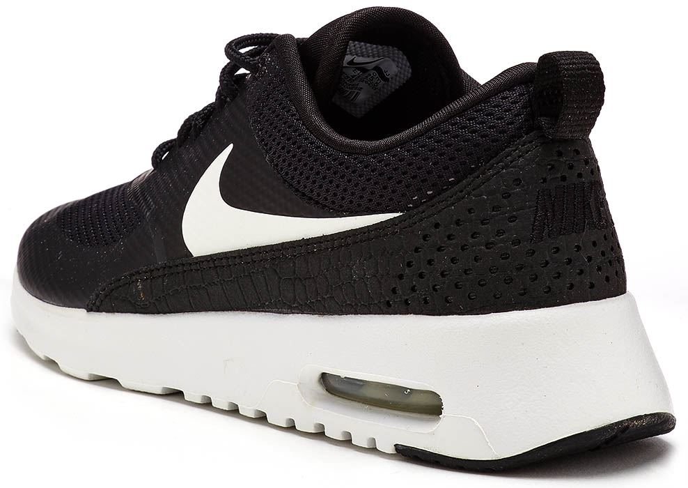 innovative design 61d1c 9e176 Description Nike Air Max Thea the new hybrid to the Air Max range.  Constructed with leather and synthetic overlays and SolarSoft sock lining  for a light ...