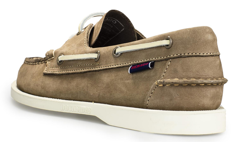 Sebago-Docksides-NBK-Suede-Boat-Deck-Shoes-in-Navy-Blue-amp-Coral-amp-Dark-Brown thumbnail 44