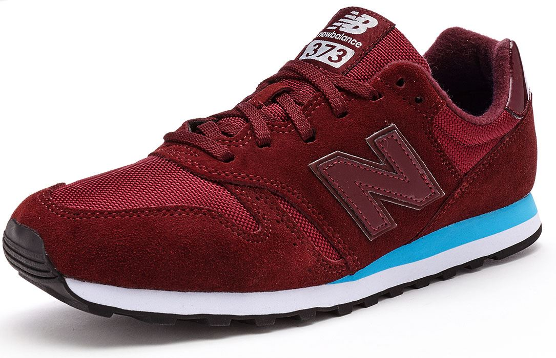 new balance ml373 suede trainers