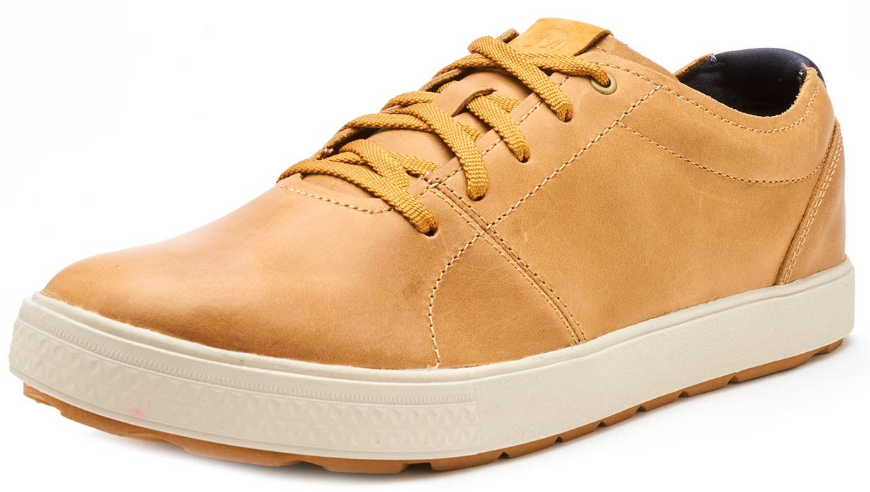 Merrell-Barkley-Full-Grain-Lace-Up-Leather-Shoes-Trainers-Tan-amp-Brunette-Brown thumbnail 7