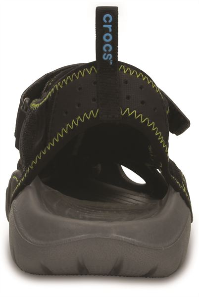 Crocs-Swiftwater-Sandals-in-Black-Charcoal-amp-Espresso-Brown-15041 thumbnail 6