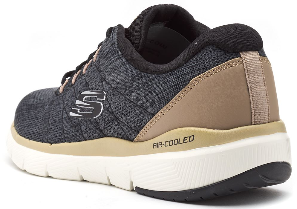 Skechers-FLEX-ADVANTAGE-3-0-con-Cordones-Fitness-Correr-Entrenadores-de-espuma-de-memoria miniatura 8