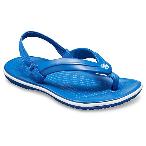 Crocs-Crocband-Kids-Ankle-Strap-Flip-Flops-Pool-Beach-Relaxed-Fit-Summer-Sandals thumbnail 5