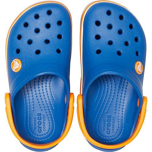 Crocs-Kids-Crocband-Rainbow-Wavy-Sequin-Relaxed-Fit-Clogs-Shoes-Pink-Blue-Orange thumbnail 22