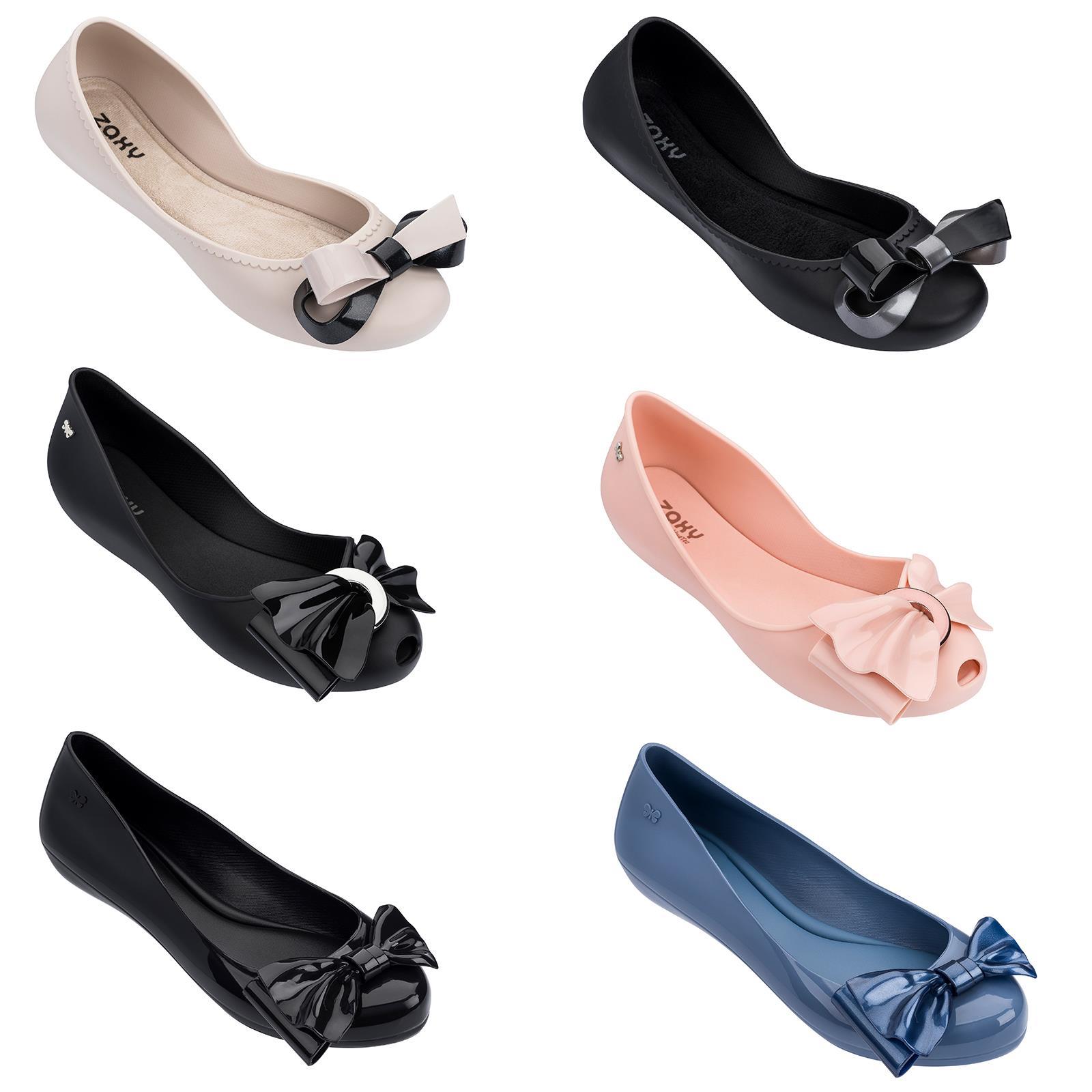 Zaxy Ballerina Slip On Flat Jelly Shoes