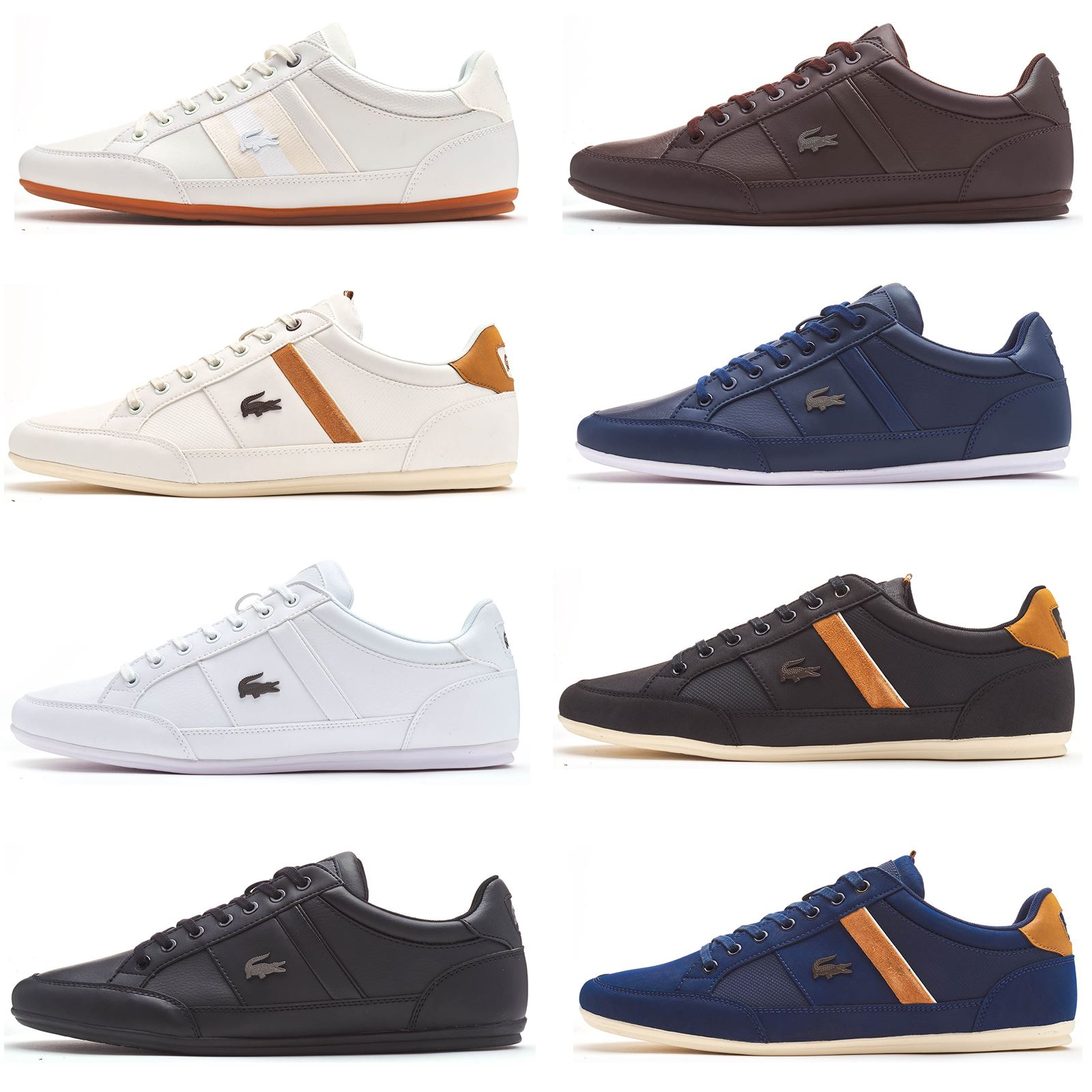 f48b32a1d487 Details about Lacoste Chaymon 119 5 CMA   BL 1 cma Trainers in White