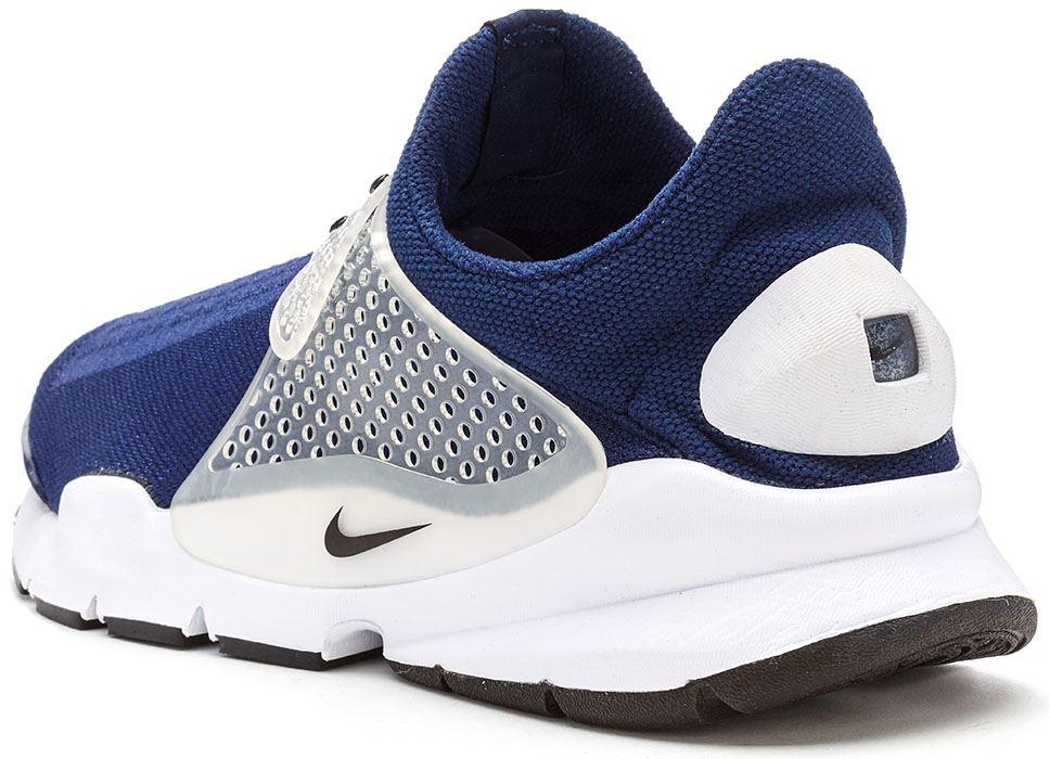 2e17cf76998 Hommes Nike Chaussette Fléchette Baskets en Minuit Bleu Marine et ...