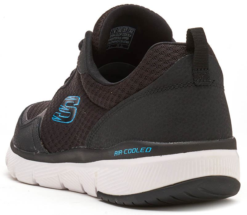 Skechers-FLEX-ADVANTAGE-3-0-con-Cordones-Fitness-Correr-Entrenadores-de-espuma-de-memoria miniatura 12