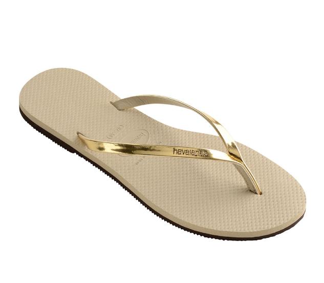 Havaianas-You-Metallic-Flip-Flops-Women-Summer-Beach-Sandals-Wide-Range-Colours miniature 12