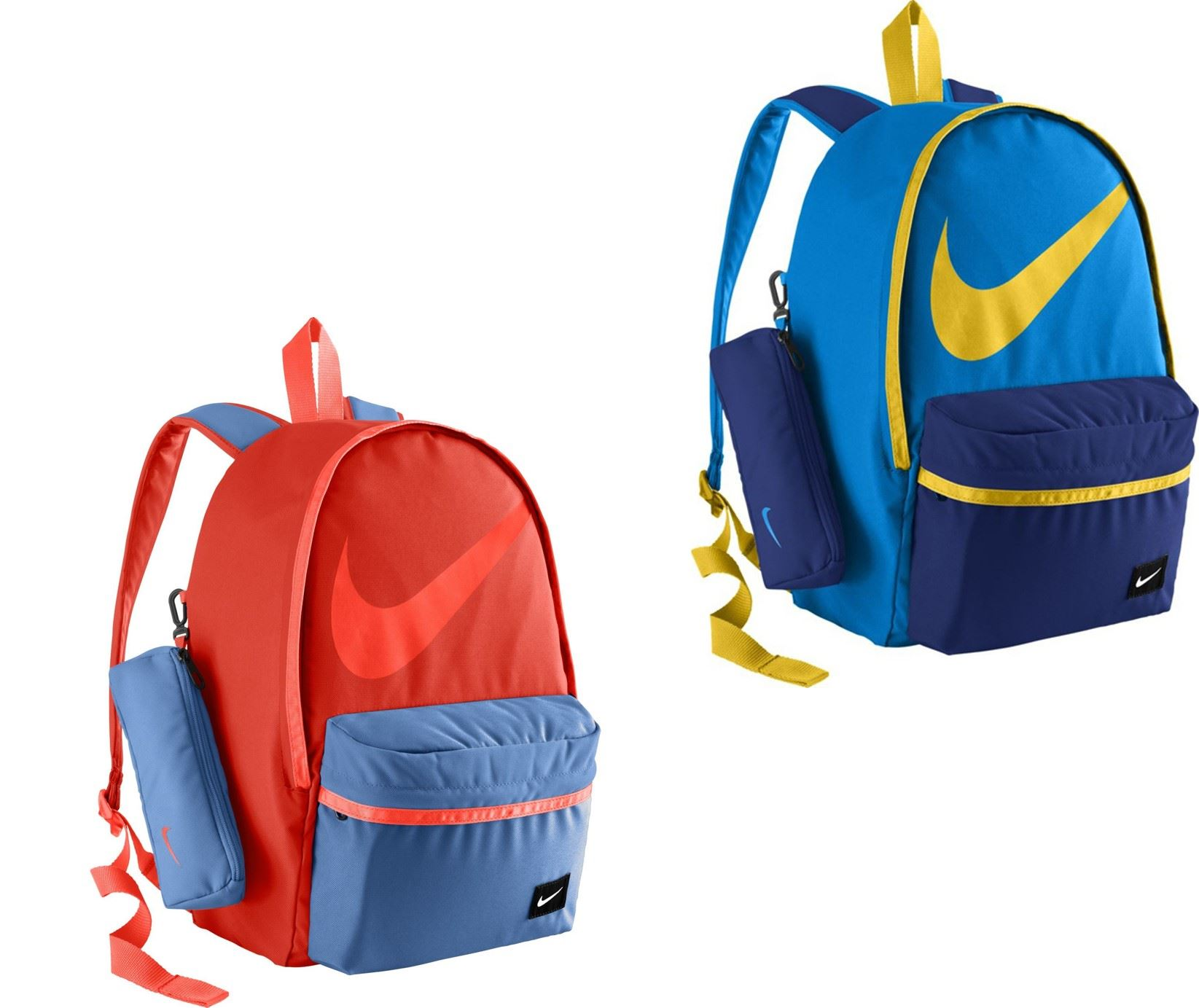 5930fc62d326 Nike Young Halfday Back to School Rucksack Backpack in Blue   Red BA4665  406 696