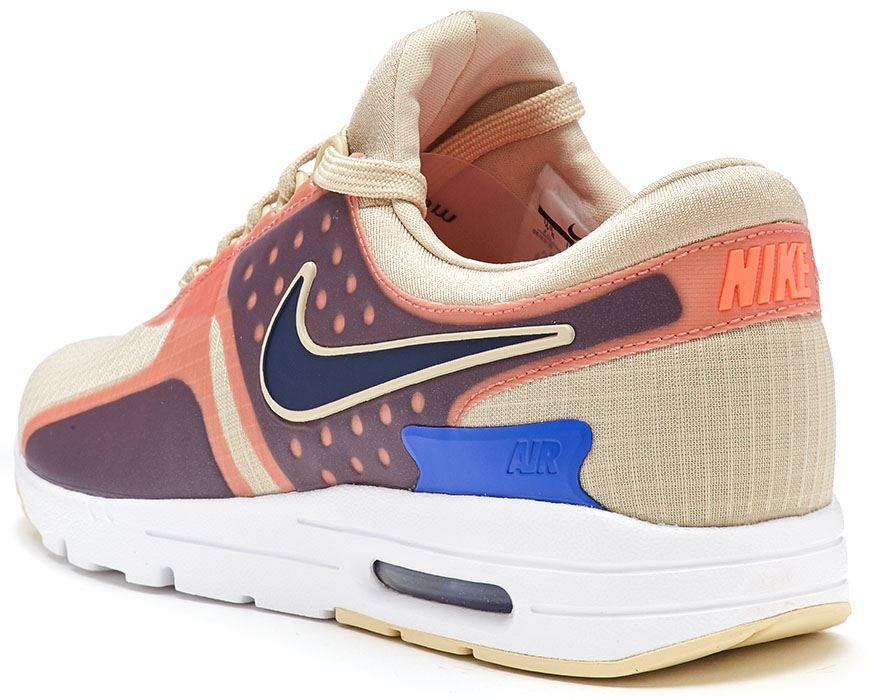 huge selection of 2f4e9 dd961 Nike Nike Nike Air Max Zero Si Femme Baskets en beige Primordial Binaire  12366e