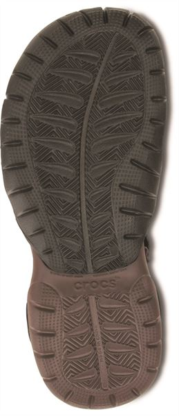 Crocs-Swiftwater-Sandals-in-Black-Charcoal-amp-Espresso-Brown-15041 thumbnail 12